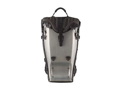 Point 65 Boblbee GTX 25L Carbon Silver Hardshell Backpack Front
