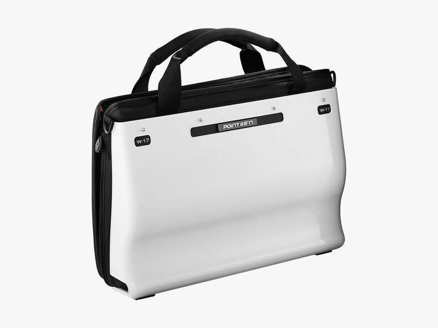 Point 65 Boblbee W17 Hardshell Laptop Bag igloo white