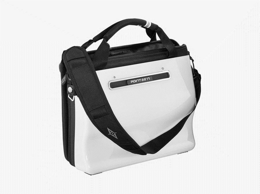 Point 65 Boblbee W13 Hardshell Laptop Bag Igloo White