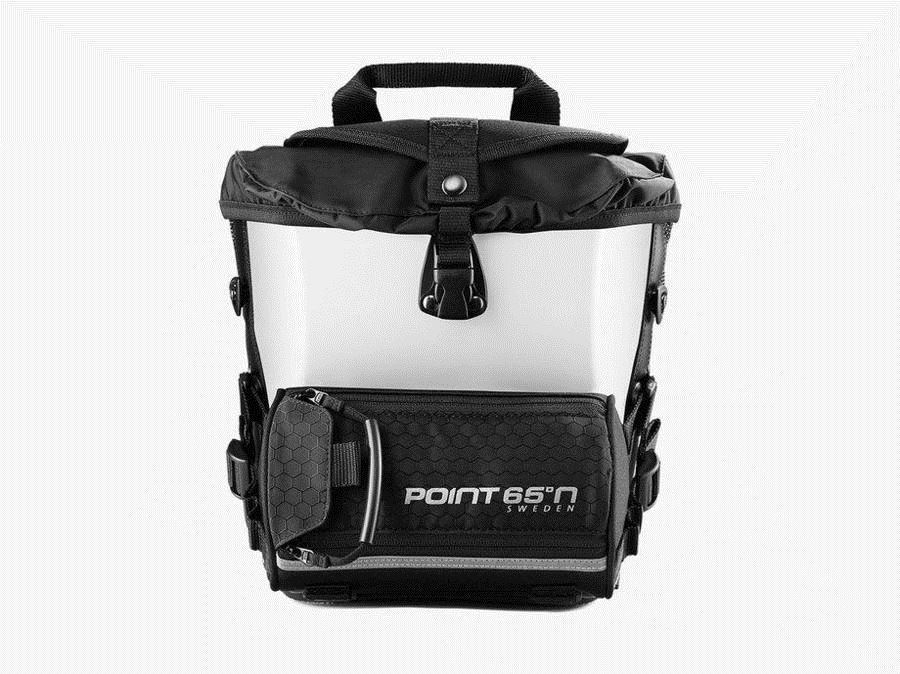 Point 65 Boblbee Cam 5L Hardshell Hip Bag Front White Igloo