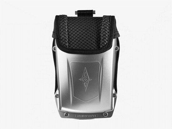 Point 65 Boblbee Nano Hardshell Travel Case Front - Spirit Silver