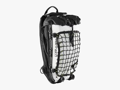 Boblbee Hardshell Backpack Cargo Net on backpack 20L