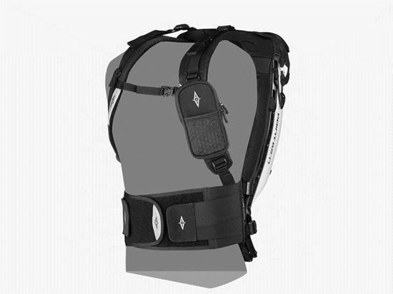 Double overlapping lock Velcro Waist Belt for 20L and 25L Boblbee Backpacks.